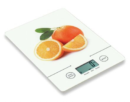 Glass Platform Tri-Mode Ultra Slim Kitchen Scales (Metric and Imperial)